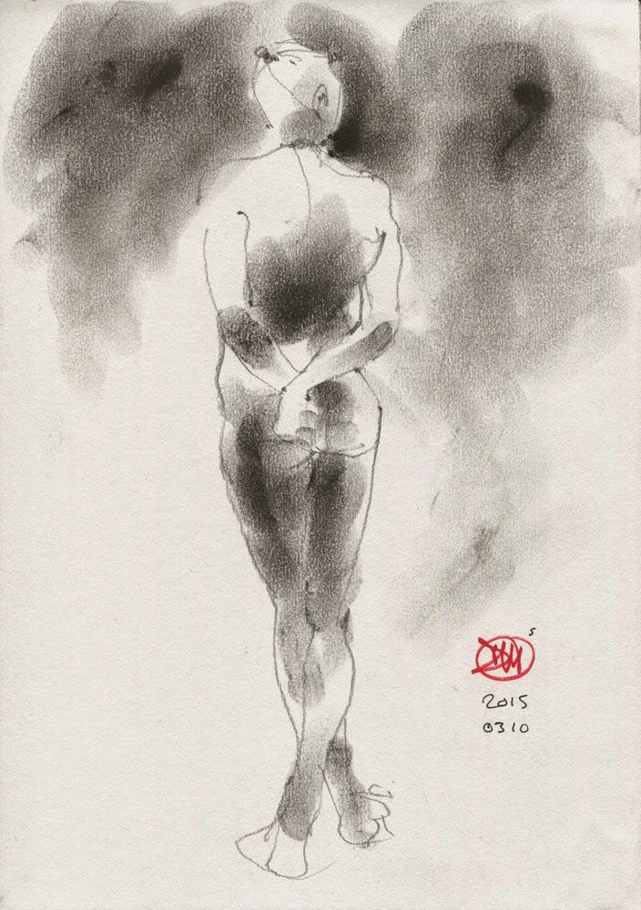 Nude by David Meldrum 20150310