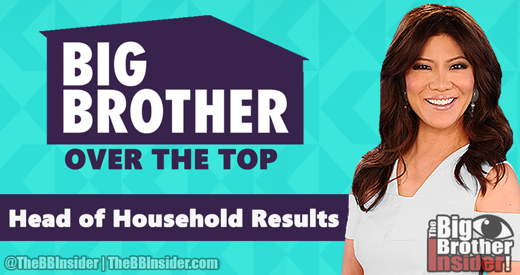 The Big Brother Insider: Big Brother Over The Top Spoilers