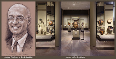 Matthew Teitelbaum. Director of the Museum of Fine Arts, Boston. by Travis Simpkins