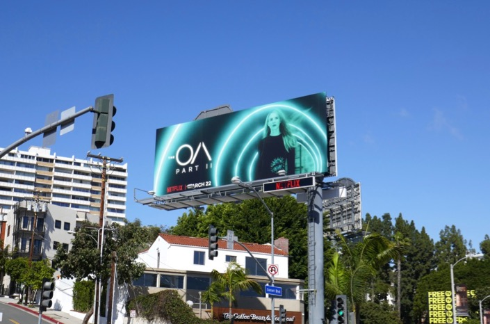 The OA season 2 billboard