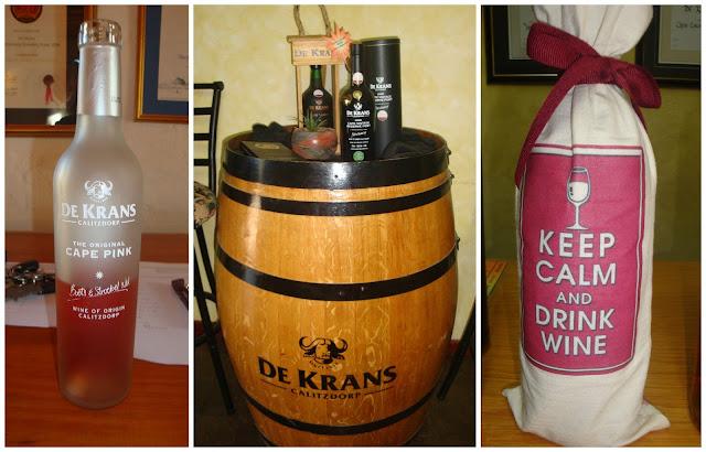 vinícola De Krans, em Calitzdorp, África do Sul