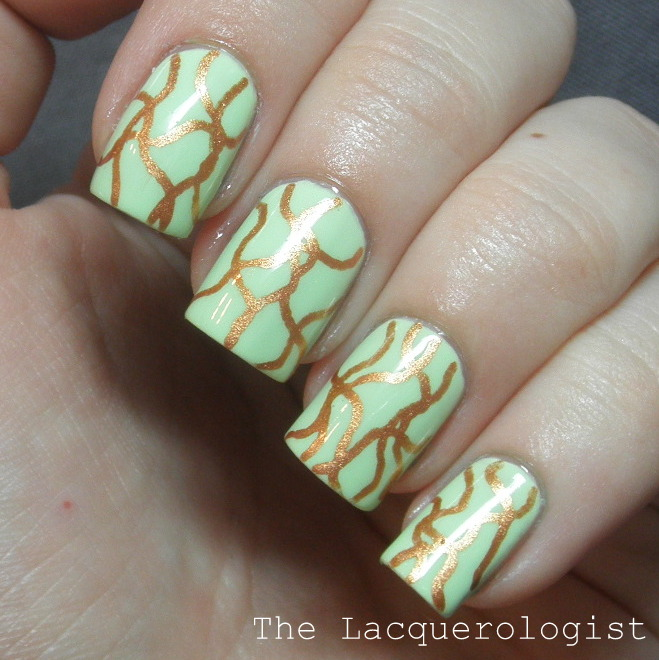 MASH Nail Art Pens and Pastel St. Patty\'s! • Casual Contrast
