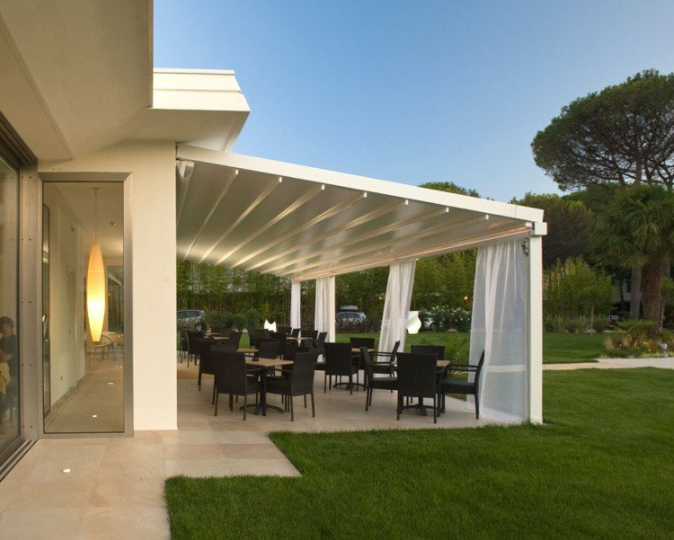 30 Pergola Design Ideas With Curtains To Turn Your Garden Into A Peaceful Refuge Living Rooms
