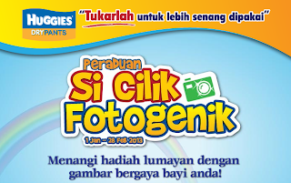 huggies - CONTEST - Win RM40,000 & Huggies Dry Pants Supply