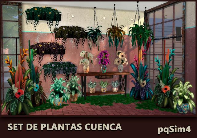 Plantas Cuenca. Sims 4 CC.