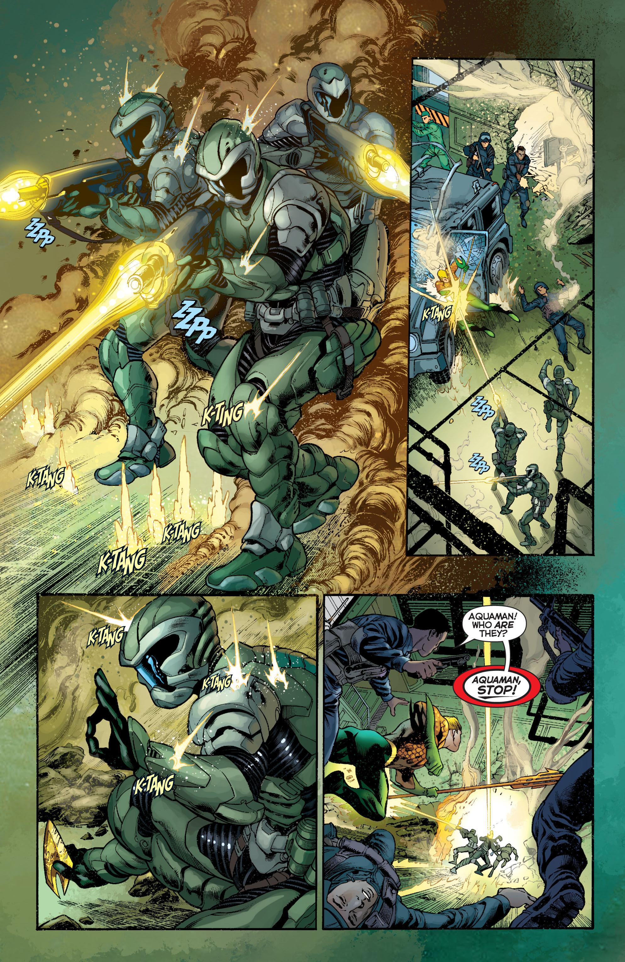Read online Aquaman (2011) comic -  Issue #5 - 11