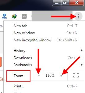 Cara Mengatur Ukuran Layar Monitor Laptop/Komputer untuk Tampilan Web/Blog di Google Chrome