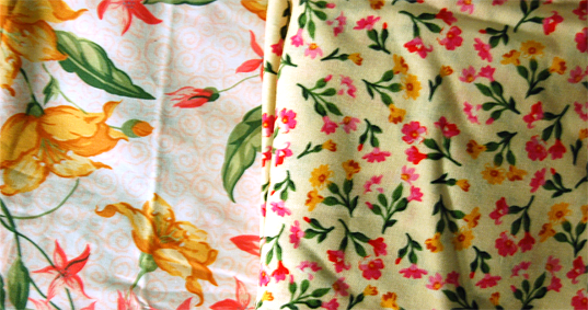 fabric for 1960s style dress