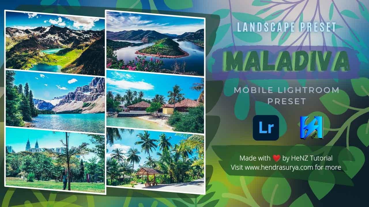 Maladiva Mobile Lightroom Preset