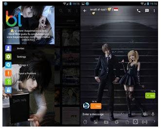 BBM Mod Death Note Cosplay V2.13.1.14 Apk