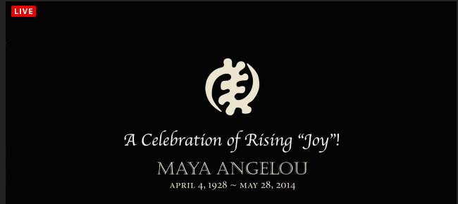 Maya Angelou Memorial Service livestream
