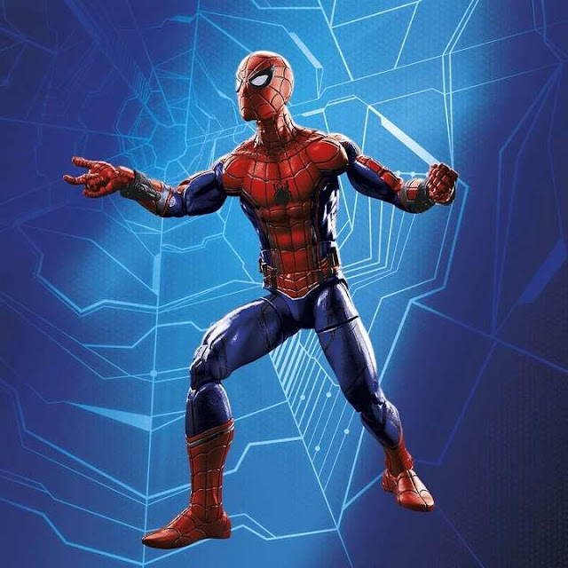 Traje de Tom Holland como Spider-Man en Civil War