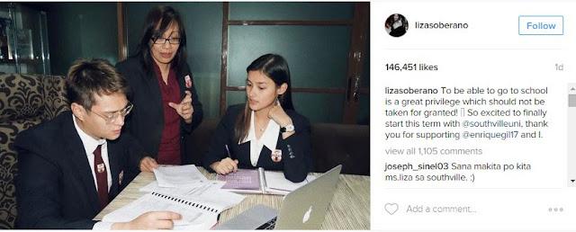 Liza Soberano and Enrique Gil - Back In School!