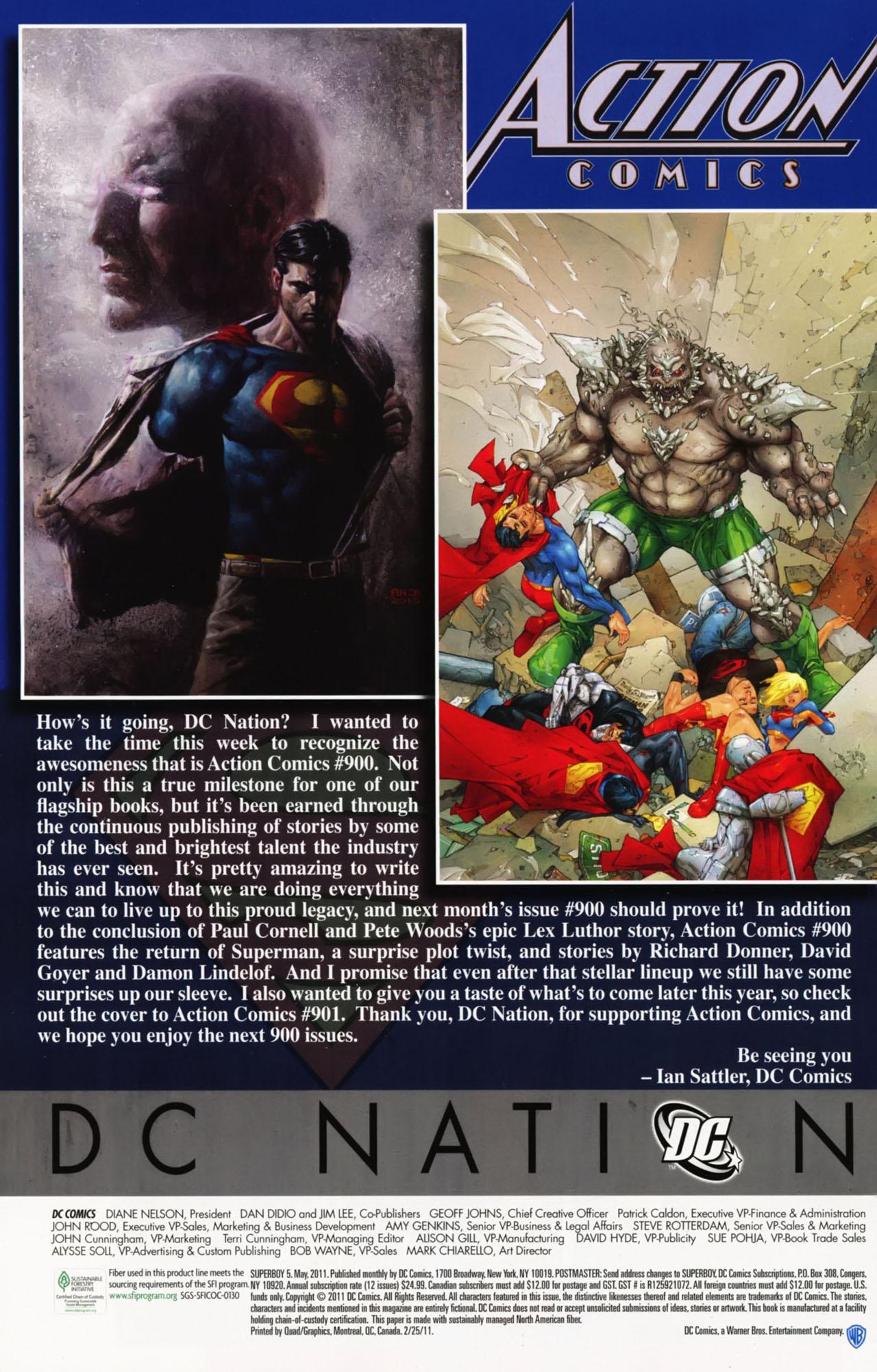Superboy [I] Issue #5 #5 - English 31
