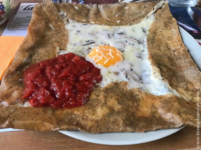Gastronomía viaje Bretaña Normandía