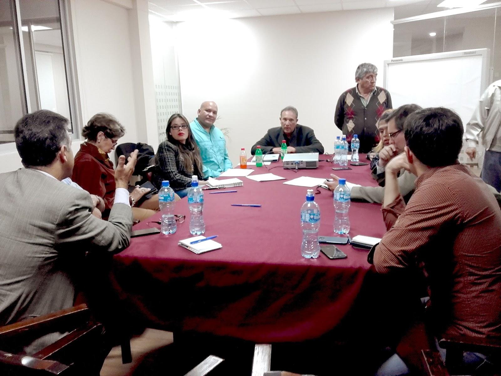 Conversatorio desarrollado el 15 de agosto en la Fundación Vicente Pazos Kanki