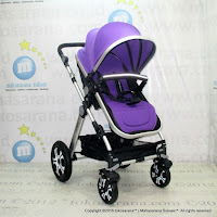 Kereta Bayi Lightweight Chris and Olins A-988N