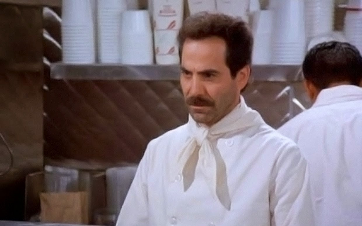 Larry Thomas Soup Nazi episode Seinfeld