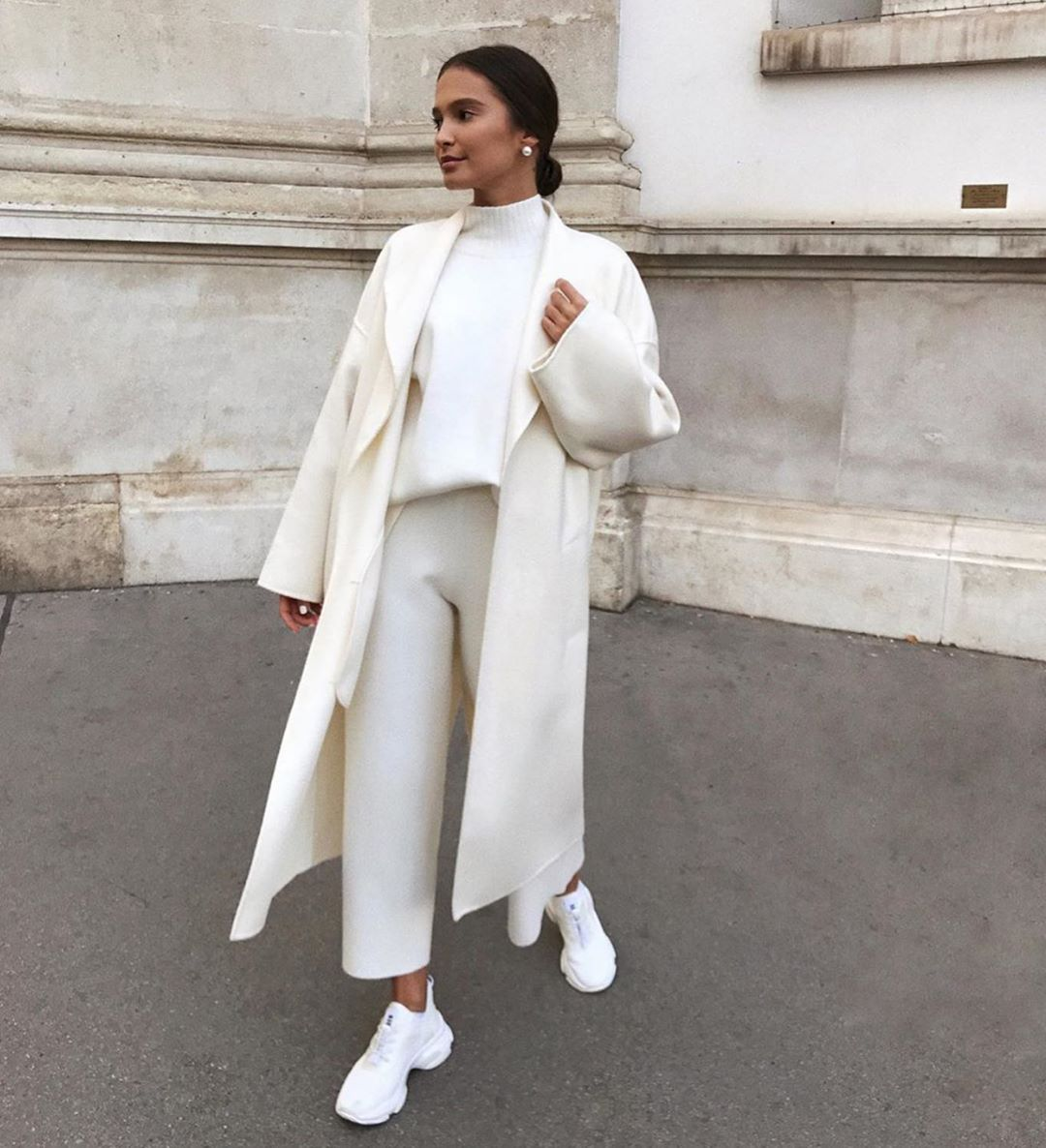 White Coats Are a Cold Weather Wardrobe Must