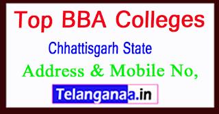 Top BBA Colleges in Chhattisgarh