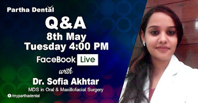 Facebook Live with Dr.Sofia Akhtar, MDS, Maxillofacial Surgery