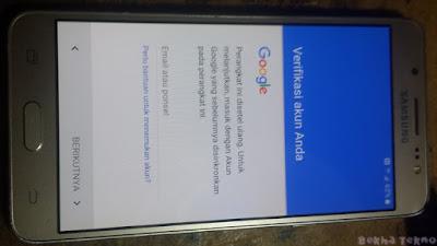 Verifikasi akun google