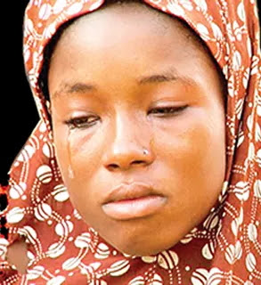 boko haram wife crying