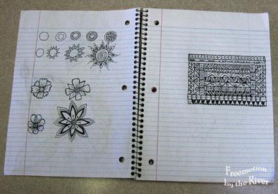 doodling zenspirations