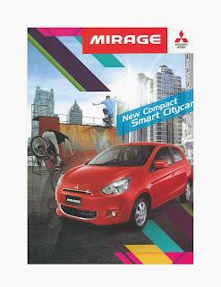 brosur mitsubishi mirage 2014