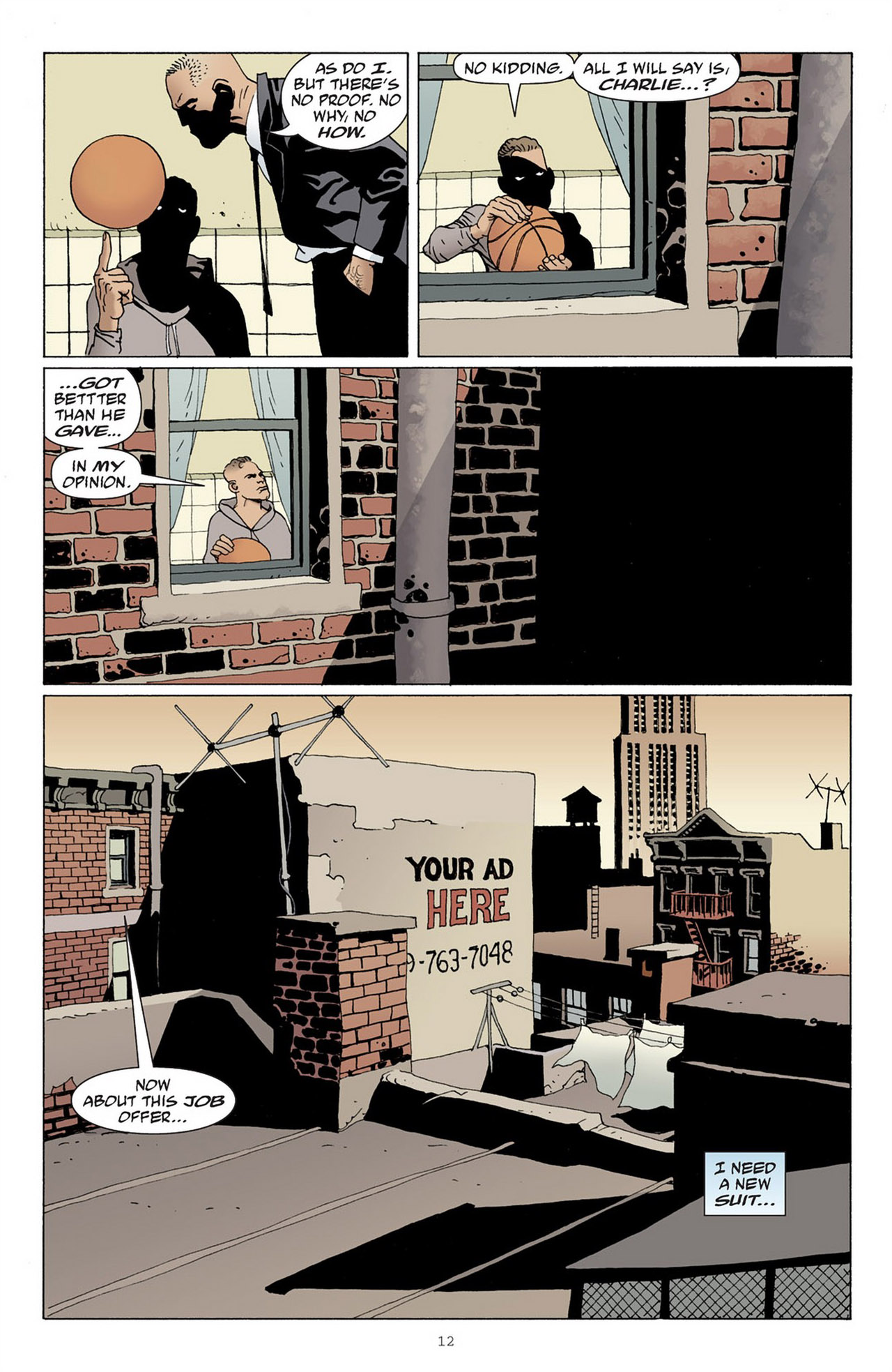 Read online 100 Bullets comic -  Issue #83 - 13