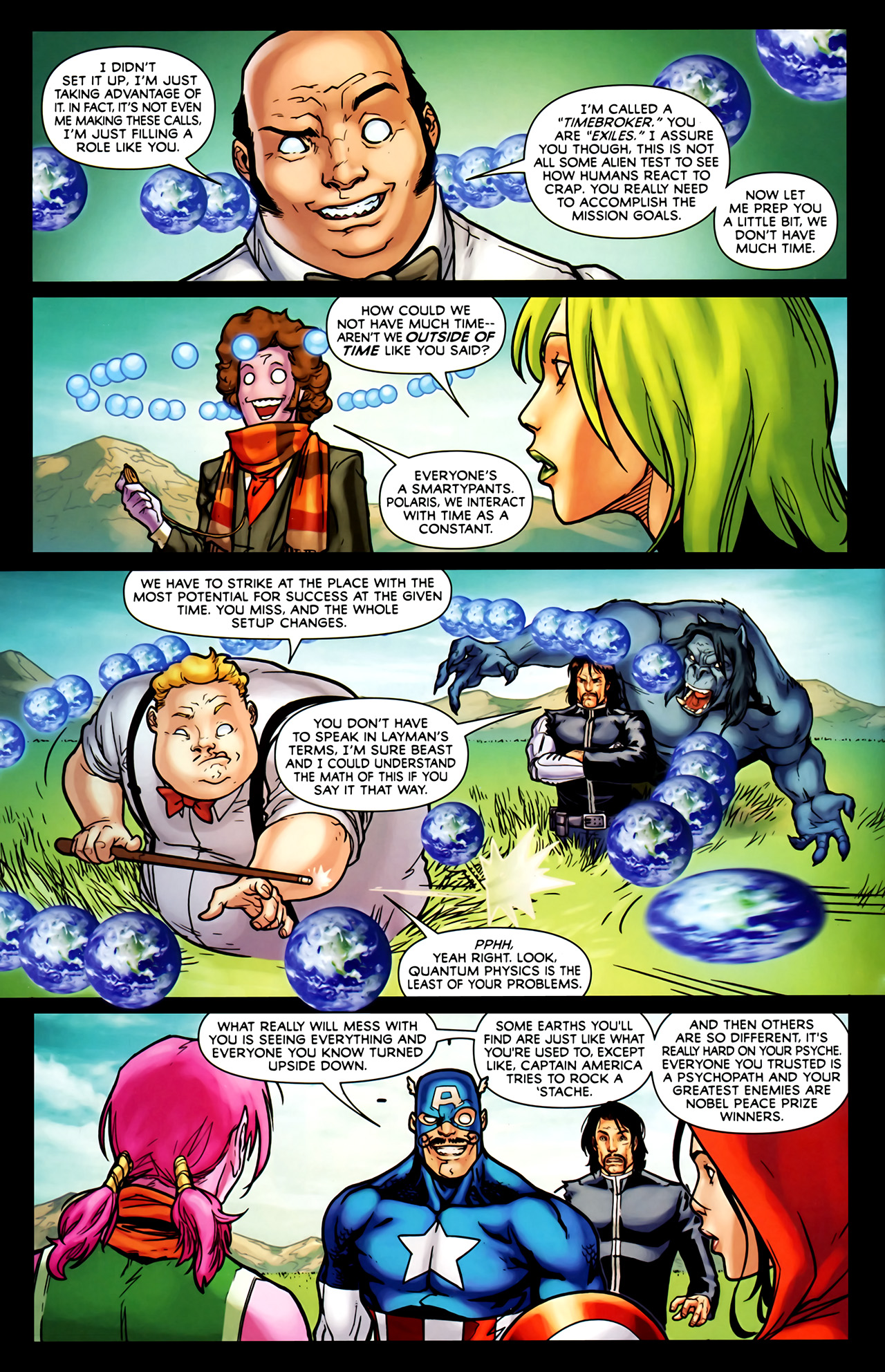 Read online Exiles (2009) comic -  Issue #1 - 18