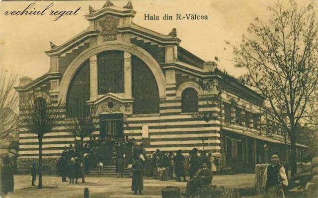 Hala din Piata Centrala - Ramnicu Valcea