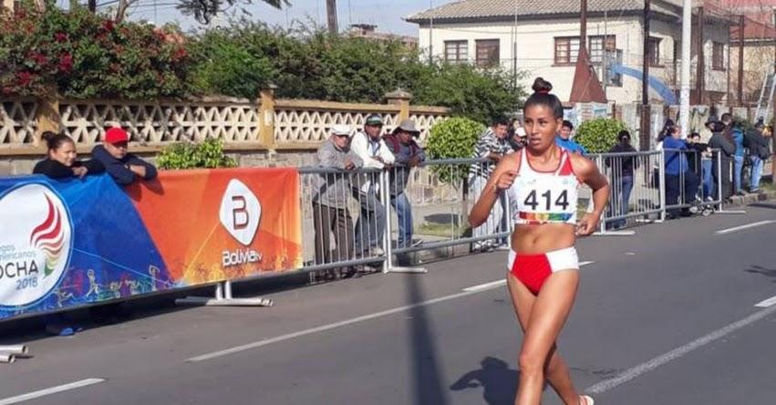 KIMBERLY GARCÍA: Peruana gana la medalla de oro en Juegos Suramericanos de Cochabamba - Bolivia