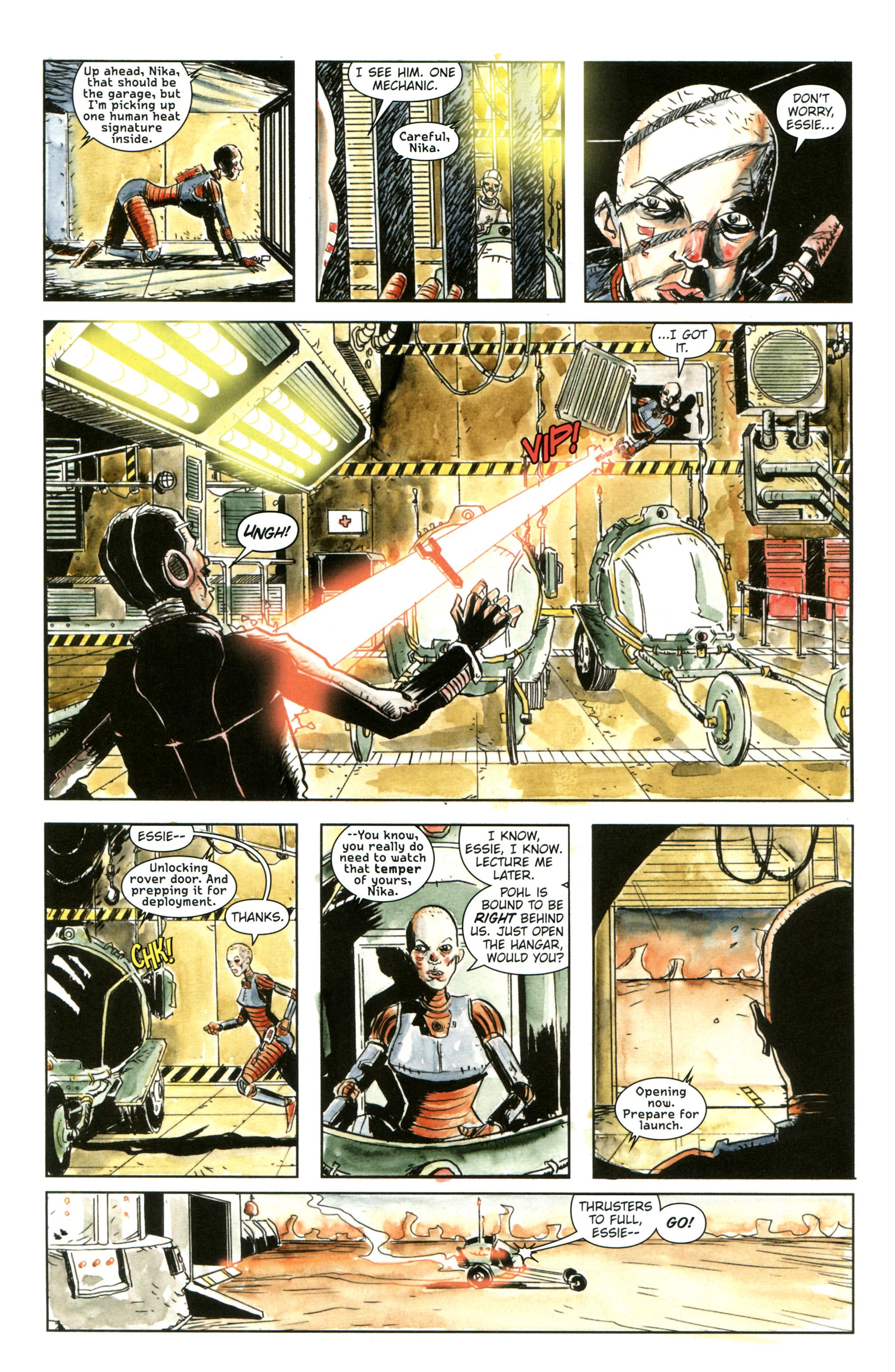 Read online Trillium comic -  Issue #3 - 13