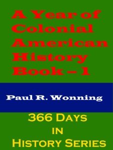 A Year of Colonial American History - Book – 1