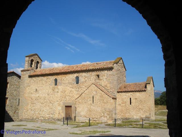 Ruta del romànic, Berguedà, senderisme, excursions a peu per Catalunya