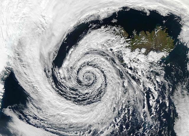 Ciclone dal Satellite