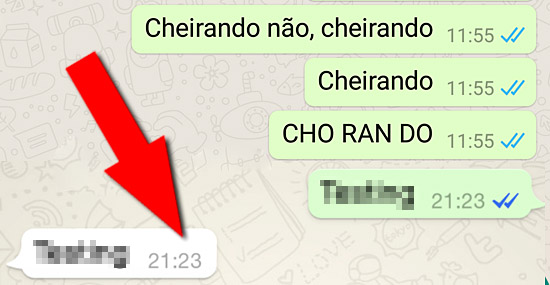 Truque revela como ver mensagens do Whatsapp sem aparecer pra ninguém