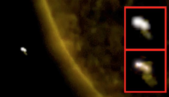 Новости об НЛО: Инопланетные корабли у Солнца, в небе над Ирландией и Квебеком