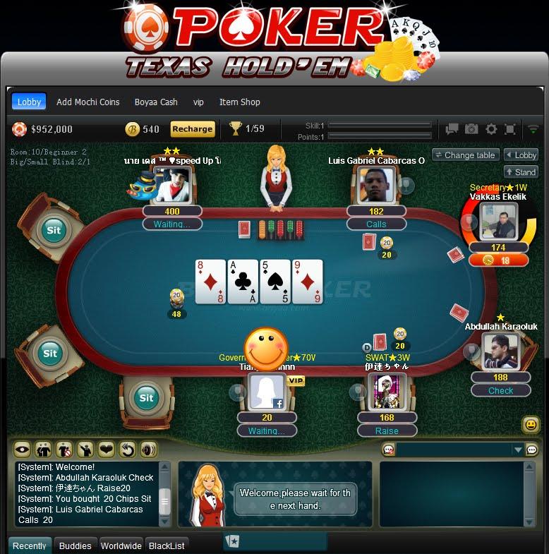 Tips Bermain Poker Texas Boyaa Agar Menang Terus » DUNIA