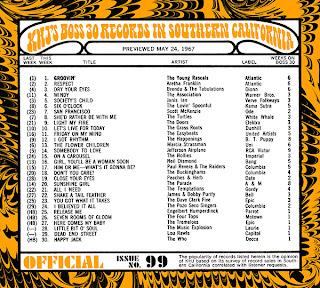 KHJ Boss 30 No. 99 - May 24, 1967