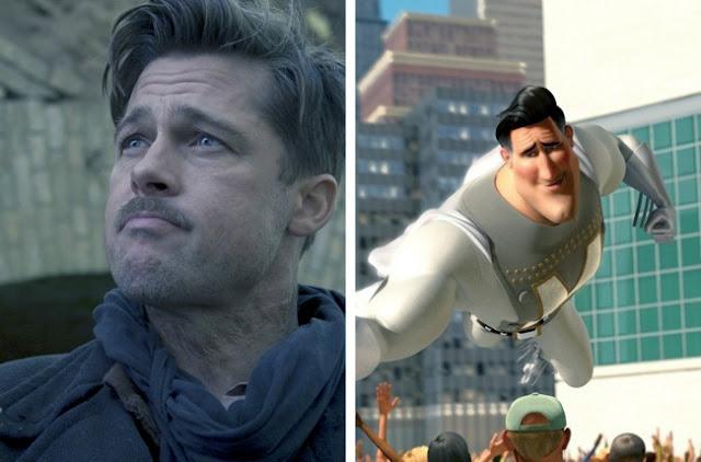 Brad Pitt - Metro Man - Megamind