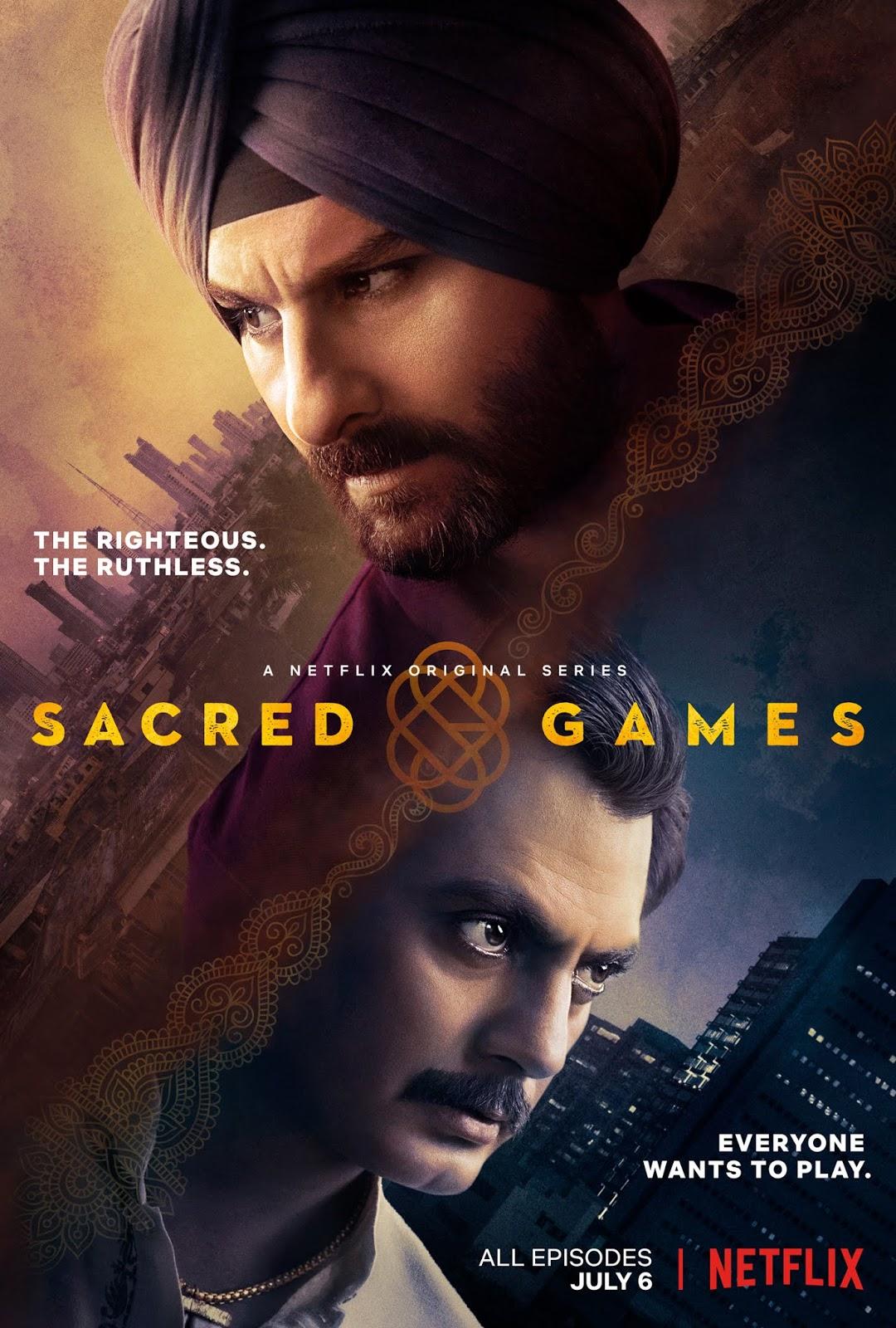 Sacred Games Season Full Episodes Download in Hindi
