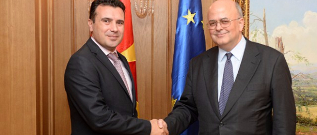 Zaev, Yannakakis: Positive atmosphere for building trust between Macedonia and Greece