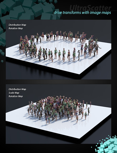 UltraScatter Advanced Instancing for Daz Studio