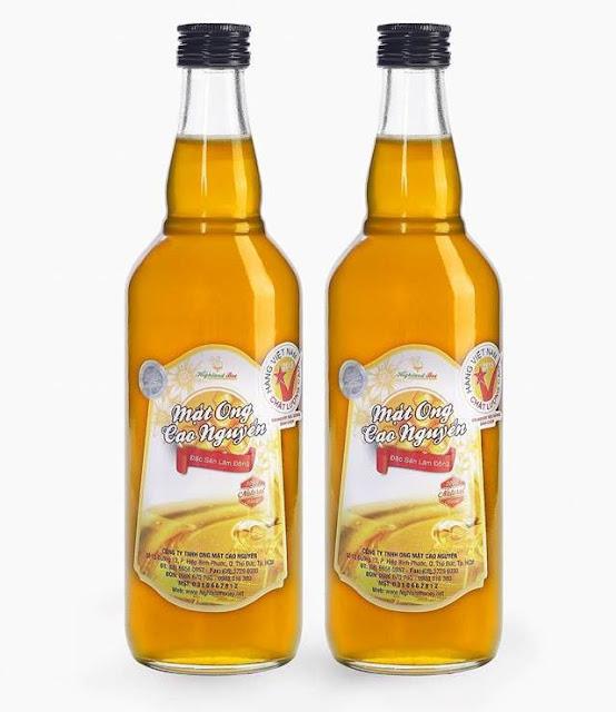 Mật ong giá rẻ tại TPHCM 100.000đ / chai 500ml