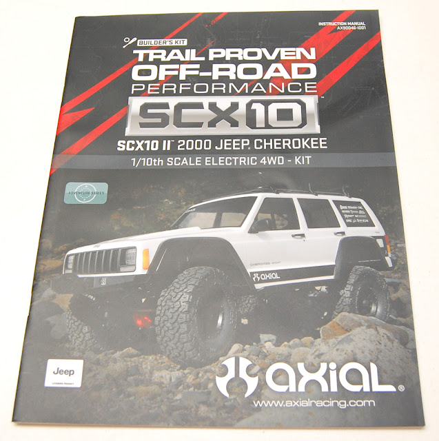 Axial SCX10 II Assembly Owners Instruction Manual