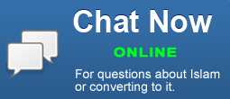 Have questions about Islam? Chat online now for your answers.