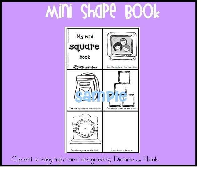 musings of me Square Mini Shape Book