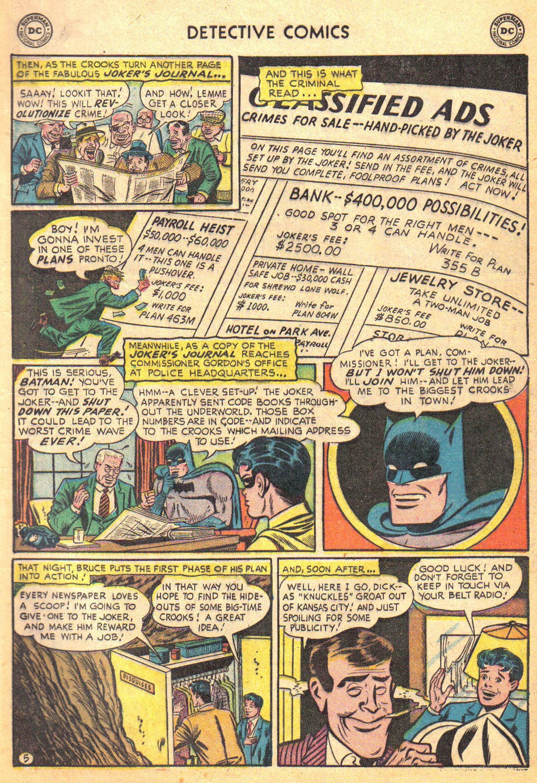 Detective Comics (1937) 193 Page 6
